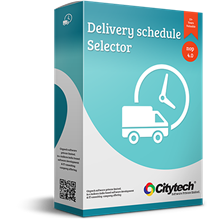 Picture of Delivery schedule selector - Nop 4.0