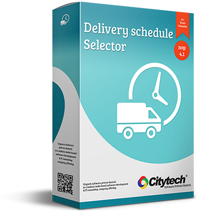 Picture of Delivery schedule selector - Nop 4.1
