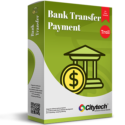 Picture of Bank Transfer Payment - Trial