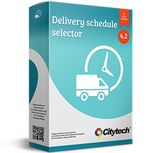 Picture of Delivery schedule selector - Nop 4.20