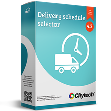 Picture of Delivery schedule selector - Nop 4.30
